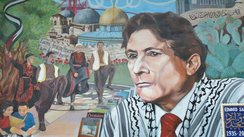painting of Edward Said