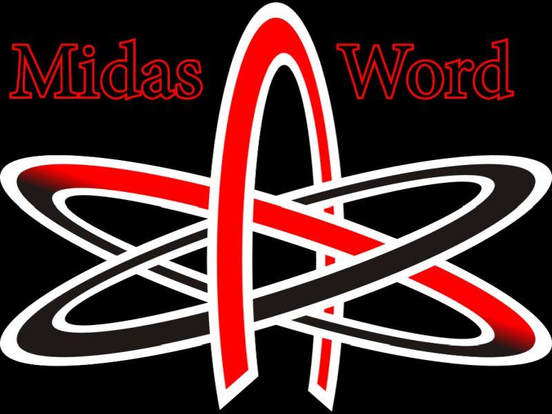 Midas Word Logo